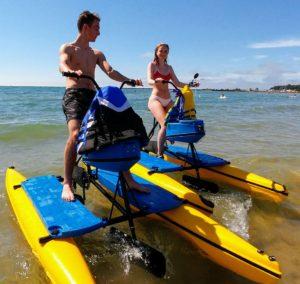Hydrobike water bikes in Canada